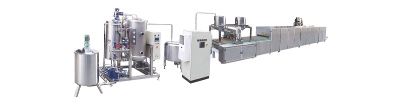 Small Scale Candy Production Line